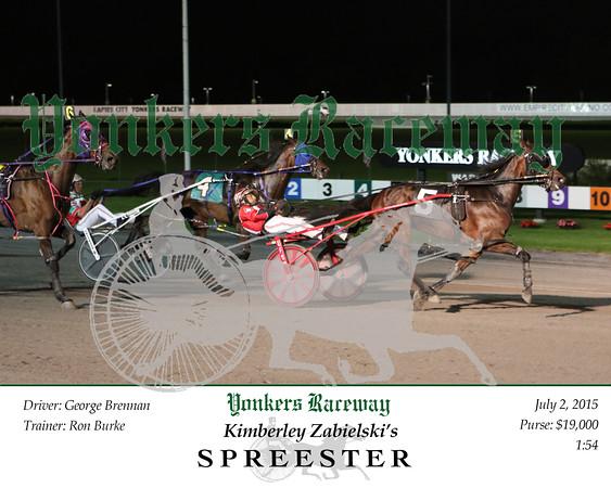 20150702 Race 7- Spreester