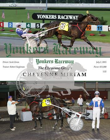20150702 Race 3- Cheyenne Miriam