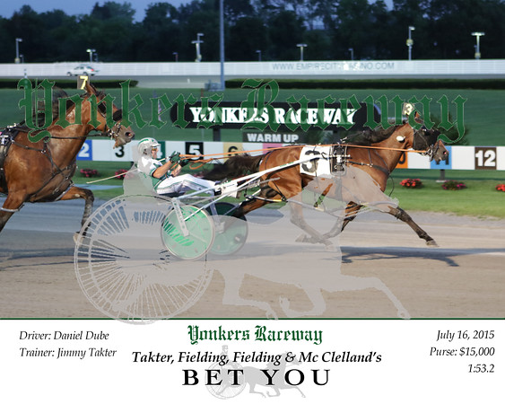 20150716 Race 5- Bet You