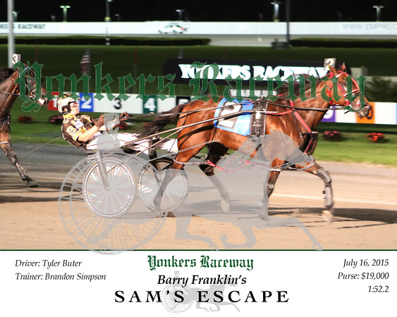 20150720 Race 8- Sam's Escape