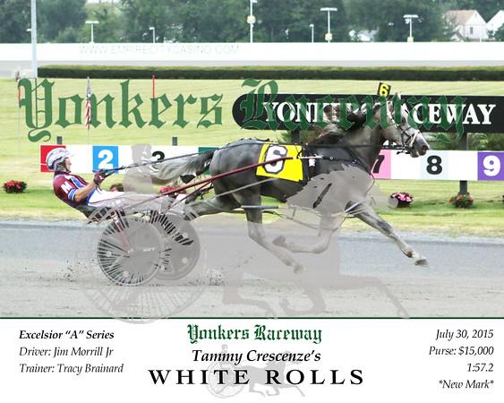 20150730 Race 2- White Rolls
