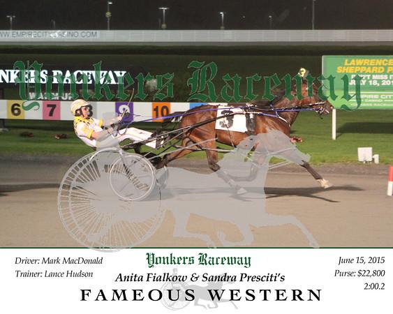 20150615 Race 8- Fameous Western