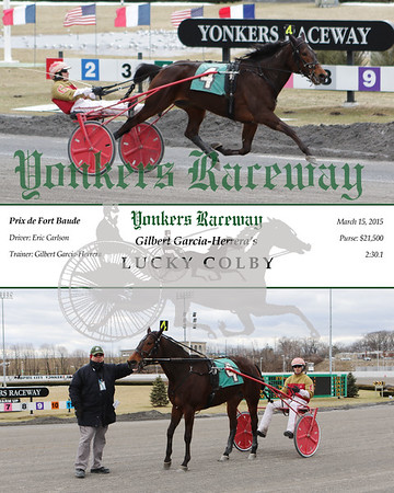 20150315 Race 5- Lucky Colby