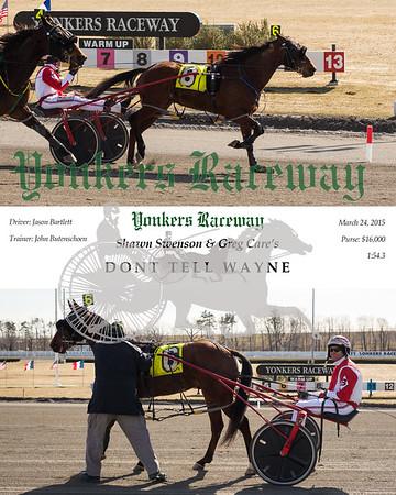 20150324 Race 9- Dont Tell Wayne