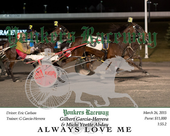 20150326 Race 4- Always Love Me