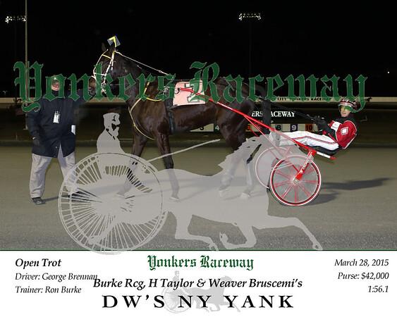 20150328 Race 6- DW's NY Yank