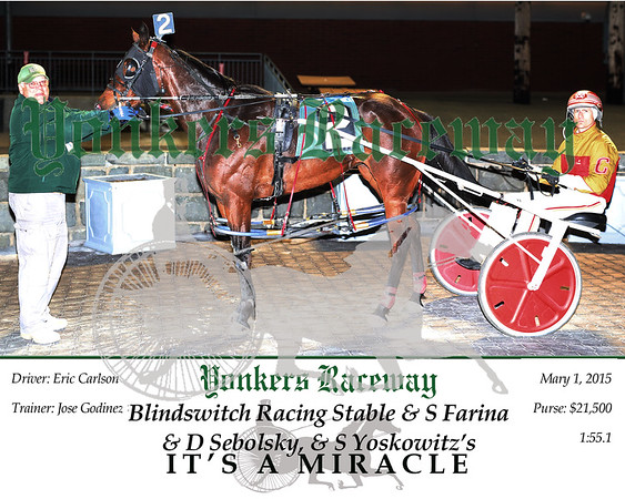 20150501 Race 10- It's A Miracle 2