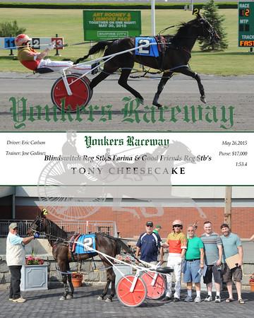 05262015 Race 12-Tony Cheesecake