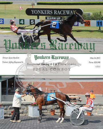 05262015 Race 10-Ideal Cowboy