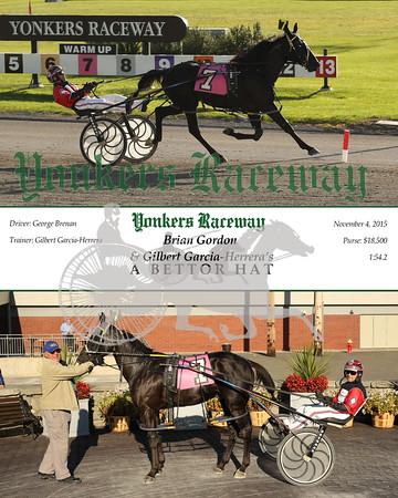 20151104 Race 6- A Bettor Hat