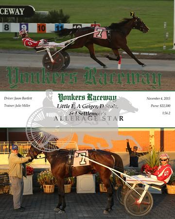 20151104 Race 11- Allerage Star