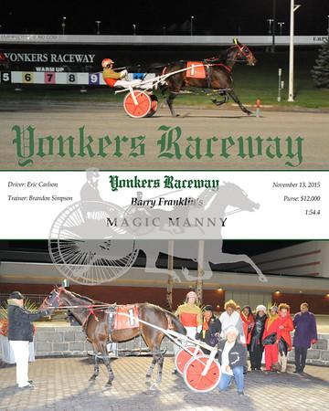 11132015 Race 3- Magic Manny