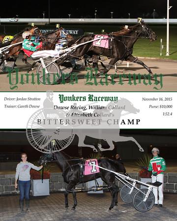 20151116 Race 1- Bittersweet Champ