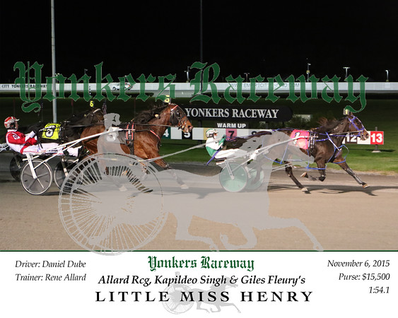 201501120 Race 6- Little Miss Henry