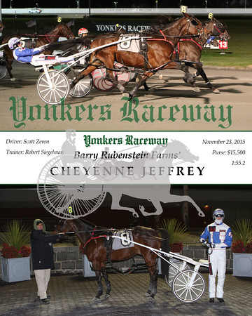20151123 Race 10- Cheyenne Jeffrey