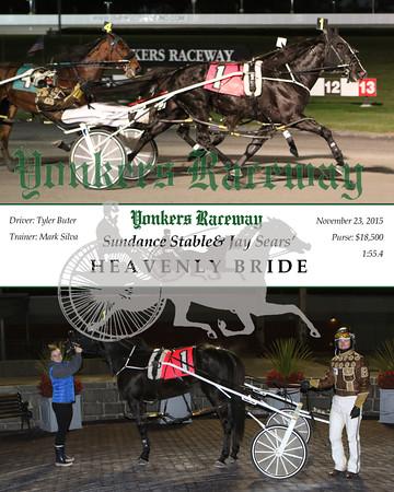 20151123 Race- 9- Heavenly Bride