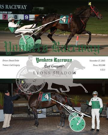 20151127 Race 5- Lyons Shadow