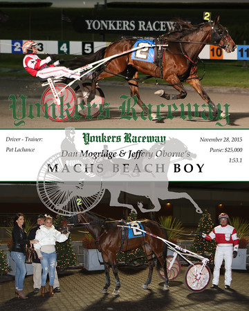 20151128 Race 5- Machs Beach Boy