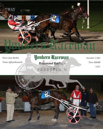 20151107 Race 10- Freespin N