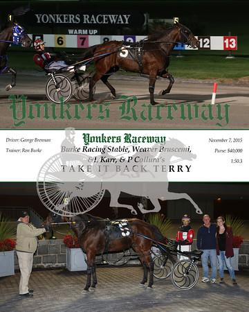 20151107 Race 7- Take It Back Terry