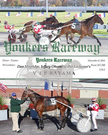 20151108 Race 8- V I P Bayama