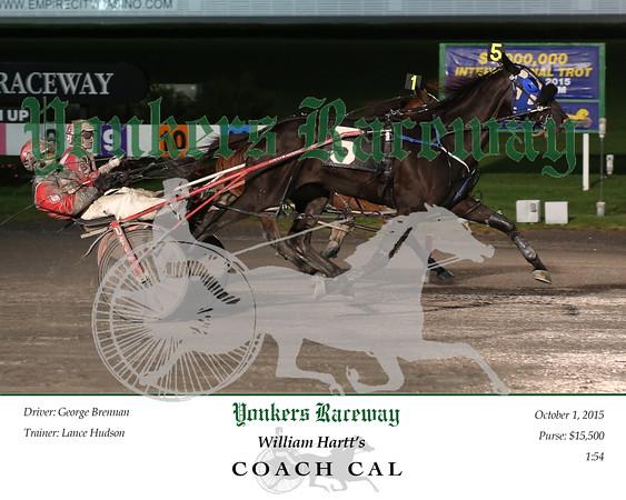 20151001 Race 7- Coach Cal