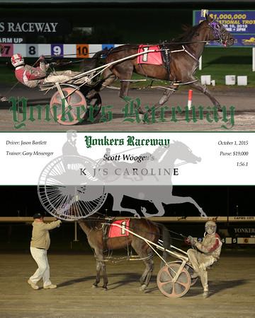 20151001 Race 9- K J's Caroline