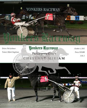 20151001 Race 8- Cheyenne Miriam