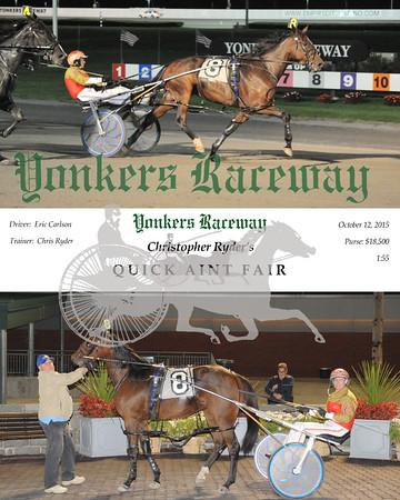 10122015 Race 5-Quick Aint Fair