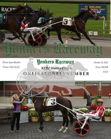 20151013 Race 3- Oneisalonelynumber
