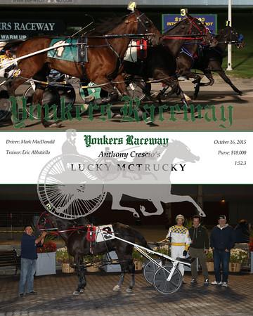20151016 Race 4- Lucky McTrucky