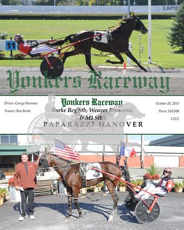 20151020 Race 4- Paparazzi Hanover