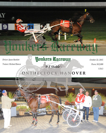 20151022 Race 7- Ontheclock Hanover