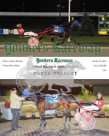 10292015 Race 5- Derek Delight