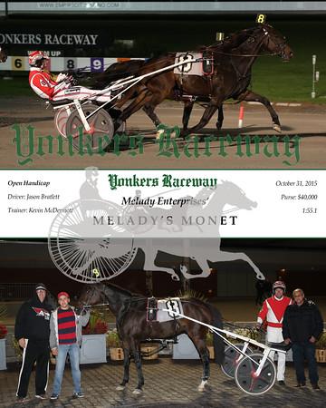 20151031 Race 7- Melady's Monet