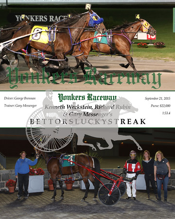 20150921 Race 12- Bettorsluckystreak