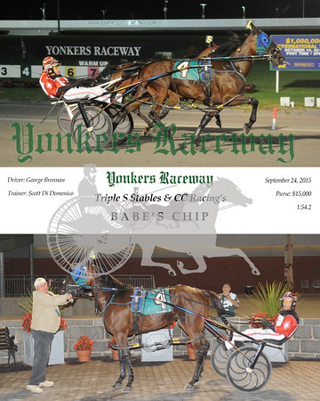 09242015 Race 5-Babe's Chip