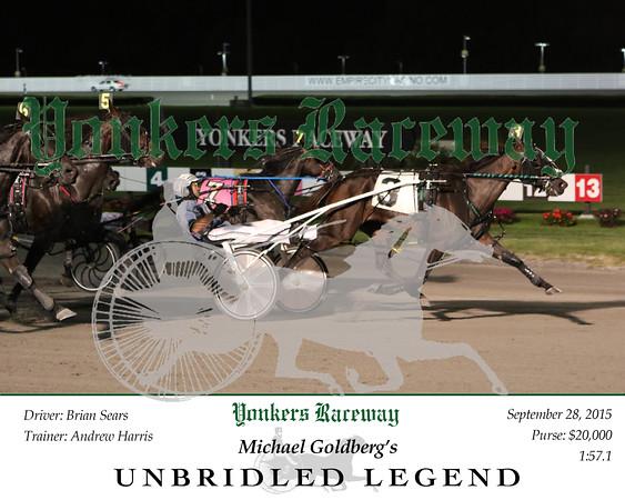 20150928 Race 3- Unbridled Legend