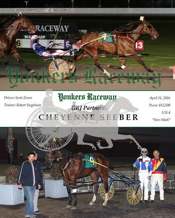 20160411 Race 7- Cheyenne Seeber