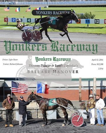 04122016 Race 9-Ballare Hanover