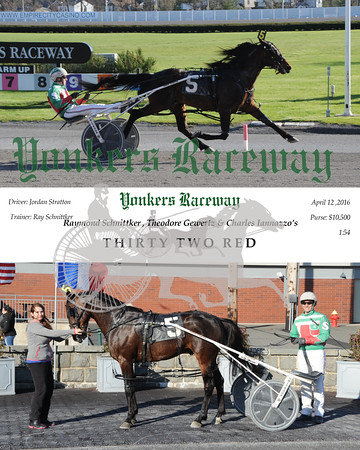 04122016 Race 12-Thirty Two Red