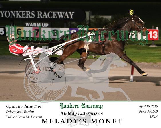 20160416 Race 4- Melady's Monet