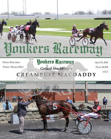 20160419 Race 2- Creampuff Macdaddy