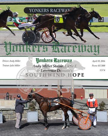 20160419 Race 9- Southwind Hope