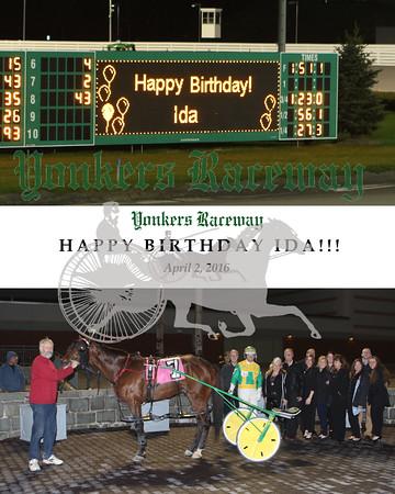 20160402 Race 3- Happy Birthday Ida