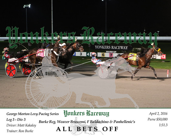 20160402 Race 8- All Bets Off