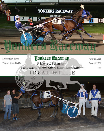 20160425 Race 8- Ideal Willie