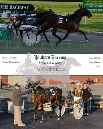 20160430 Race 1- Mcerlean
