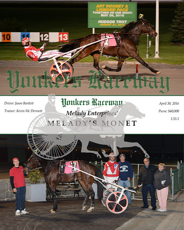 20160430 Race 8- Melady's Monet