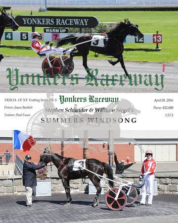 04052016 Race 5- Summers Windson
